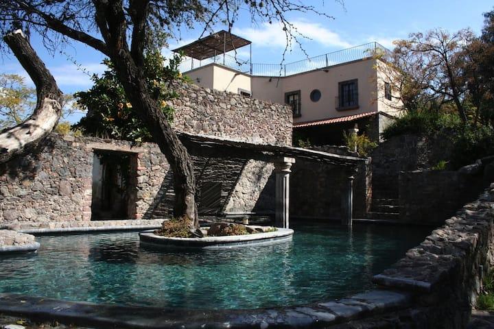 Casa Laguna, a hacienda in a green oasis