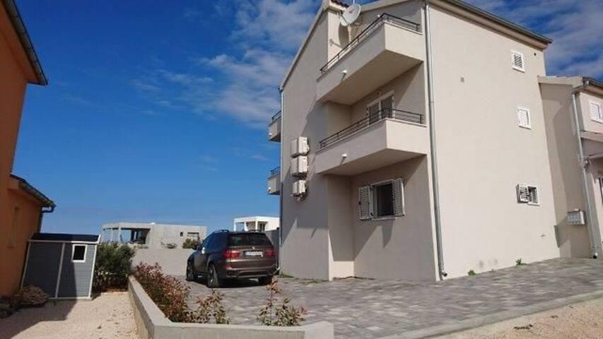One bedroom Apartment, in Primosten, Terrace