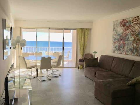 3 habitaciones frente al mar Cannes Palm Beach