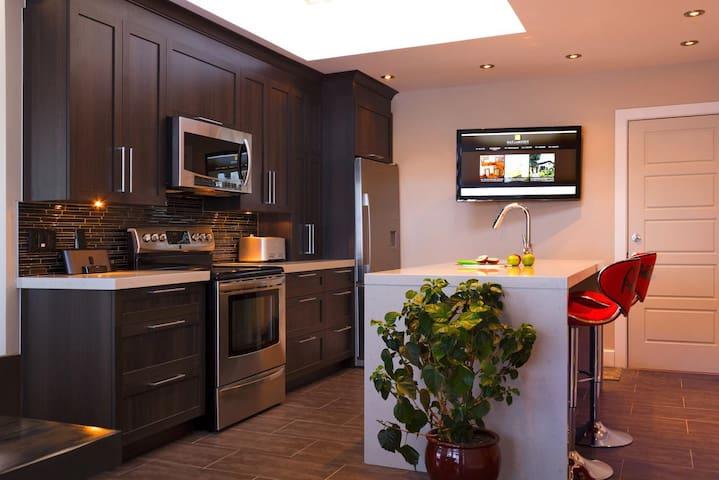 Luxurious 3 bedroom, 2 storey condo in Montreal - Montréal - Condominio