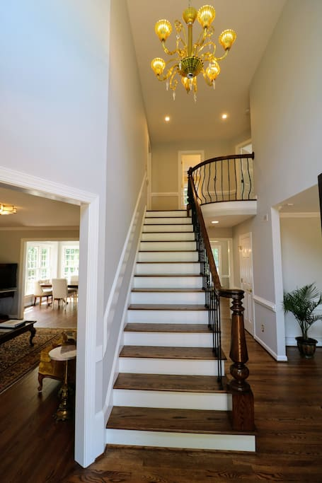 Foyer and main staircase