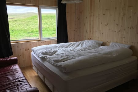 Double room in farmhouse by the Ring Road