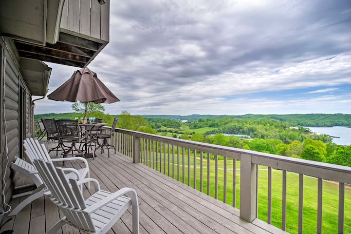 Condo w/ Deck & Golf Course/Norris Lake Views