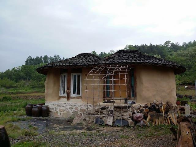 선암마을 흙집-골말동