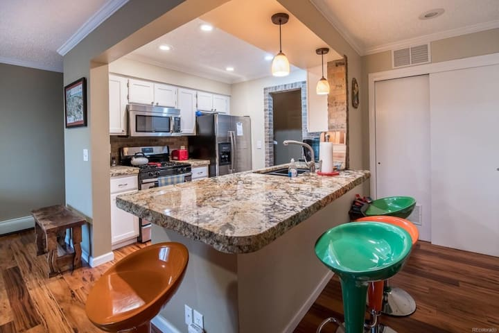 Enjoy Steamboat in this remodeled place!