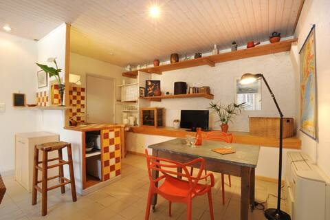 Holiday rental on the organic farm between sea and mountain.
