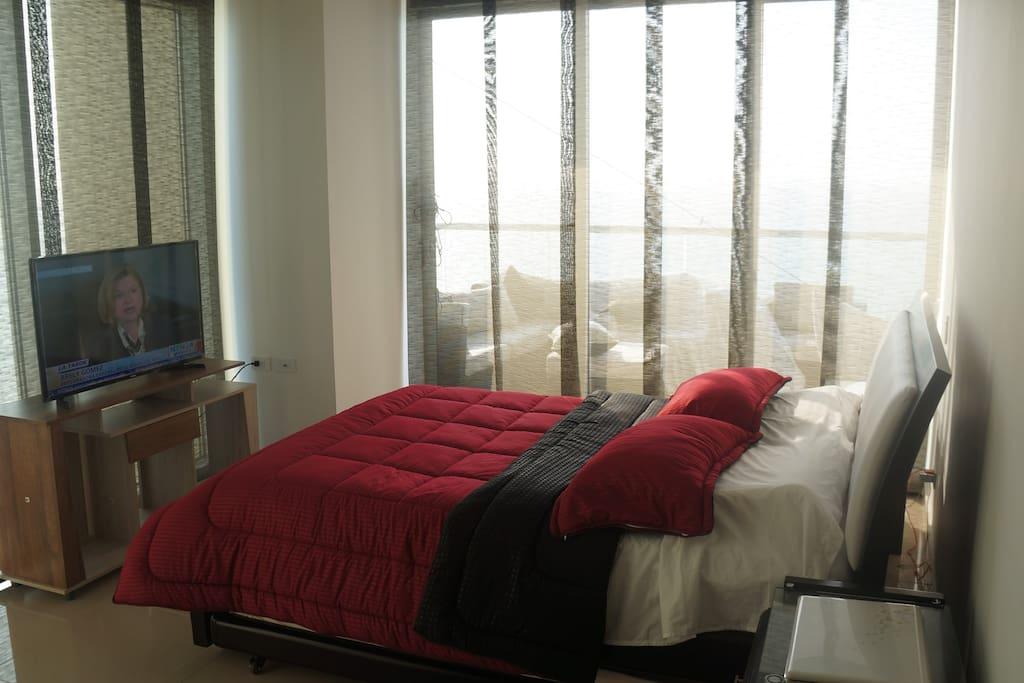 Master bedroom  Ocean and  bay  views