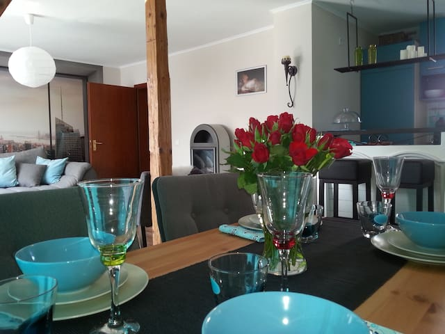 City Apartment New York in Duissern - Duisburg - Flat