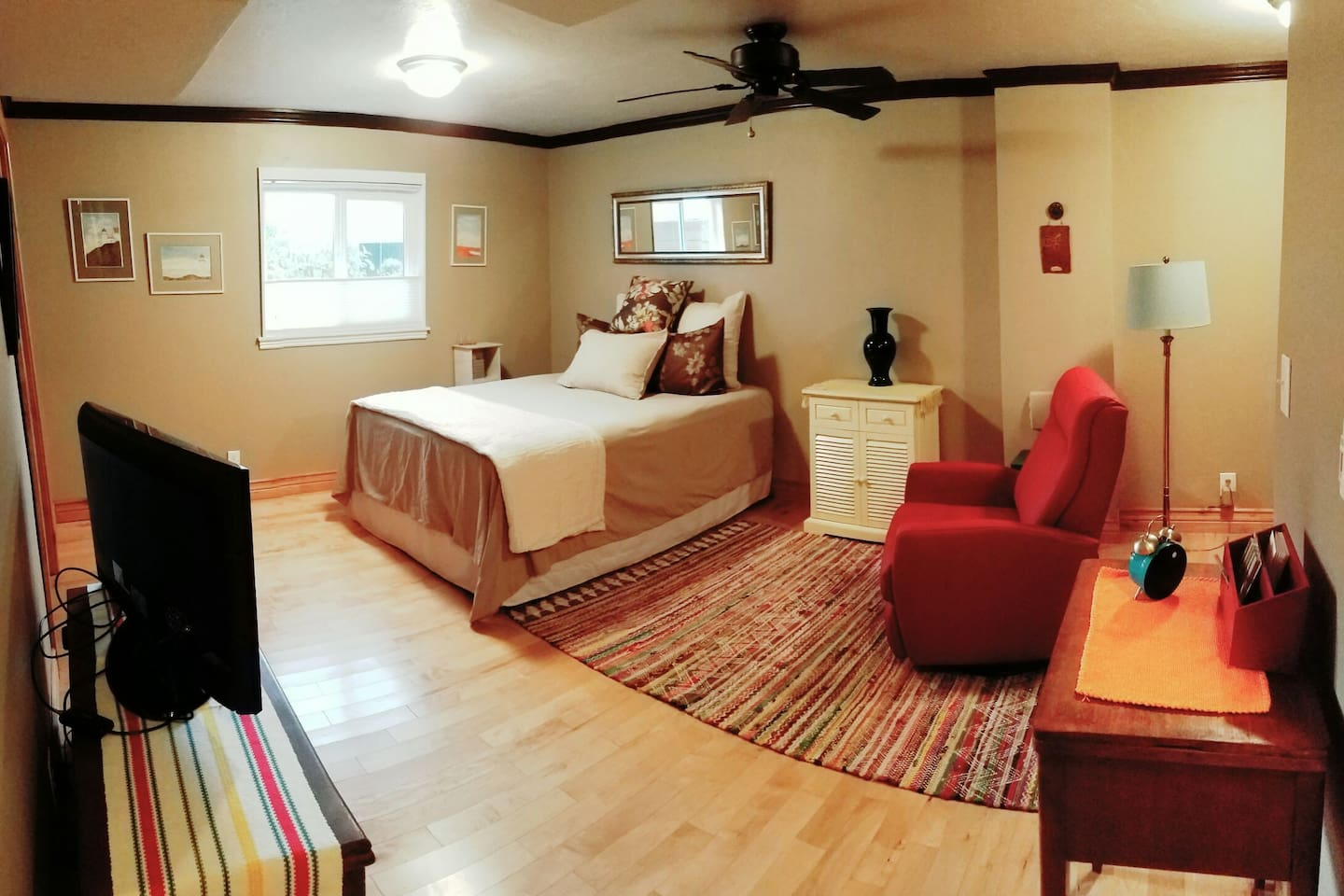 New Queen bed in May 2019.  Wi-Fi available