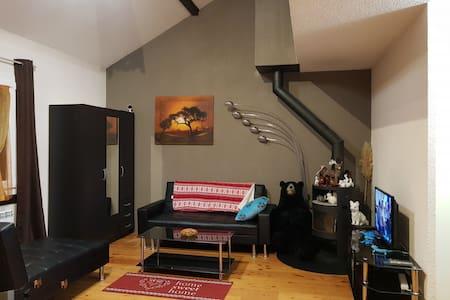 Chaleureux Duplex à Gex - Vue Mont-Blanc - Garage