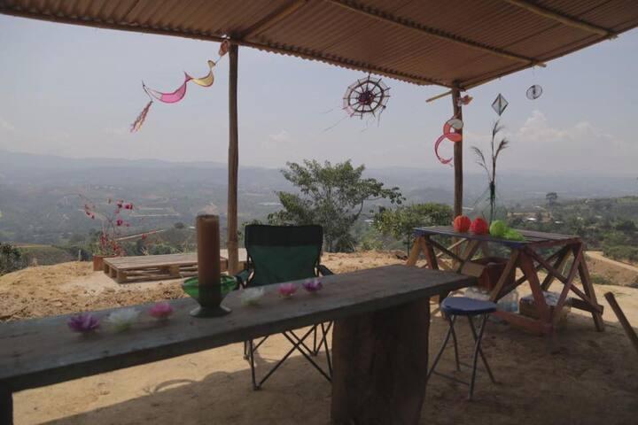 Camping en Wayacan, un spacio-para el alma