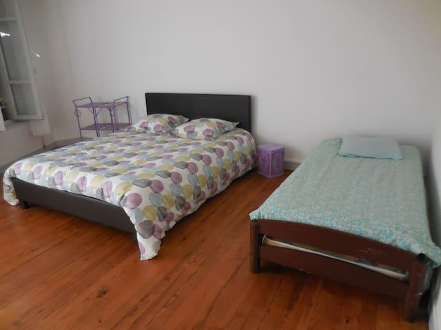 chambres à louer centre ville - Tonneins - Ev