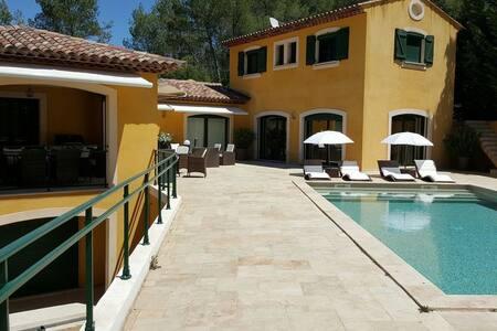 Villa luxueuse magnifiquement équipée - Taradeau - Ház