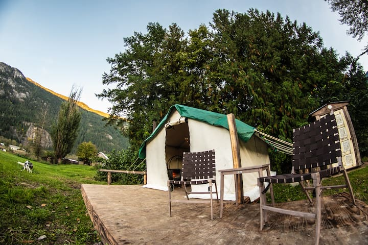 Experience Pemberton Meadows Glamping! (4 Seasons)