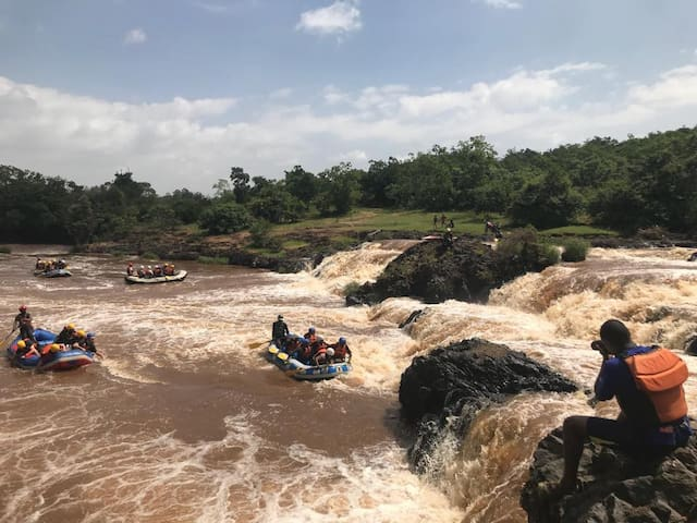 napoleon rafting /camping kenya