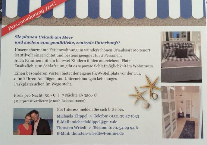 Am Meer ! Die Tischlerei - Heikendorf - Apartment