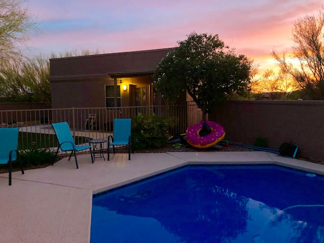 Private Sonoran Desert Guest House in Tucson, AZ