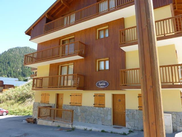 2 bed apartmt - in a 3* chalet, central, nr piste - Modane - Lägenhet