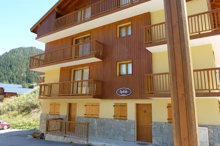 2 bed apartmt - in a 3* chalet, central, nr piste - Modane