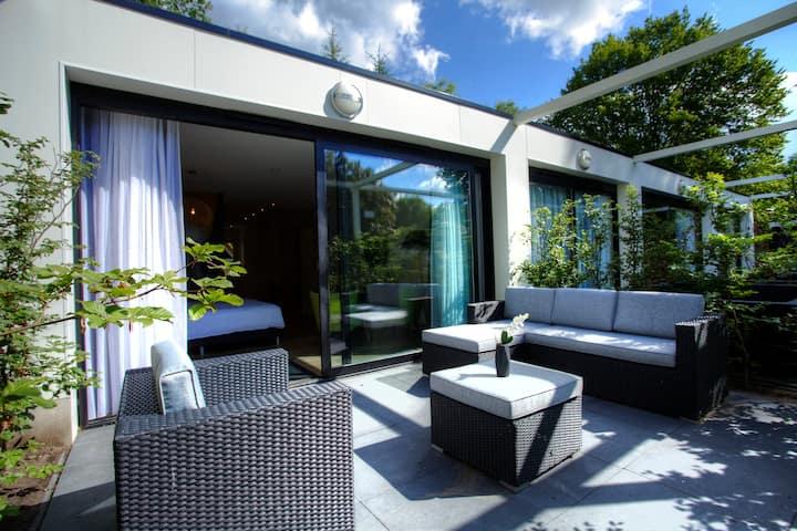 Verblijf in een luxe studio nabij Arnhem