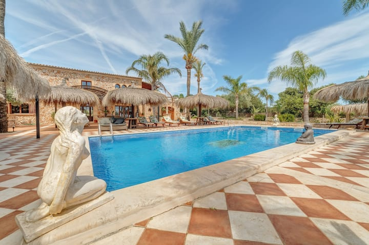 Natural stone villa with pool and jacuzzi - Villa Casa Grande