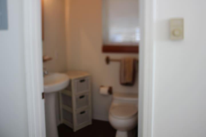 3RD BATHROOM IN STUDIO (PART OF BEDROOM 3)