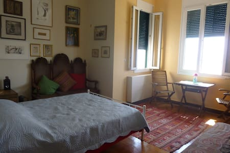 Private room in Corfu town overlooking the sea - Corfu - Apartment