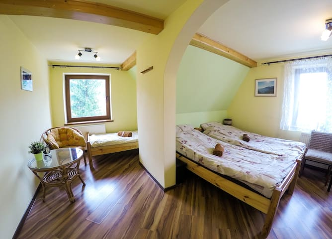 Base Camp 1! No 2 (2/3-persons) - Zakopane - Huis
