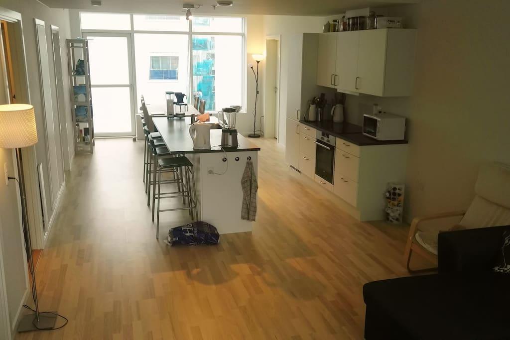 Køkkenområde