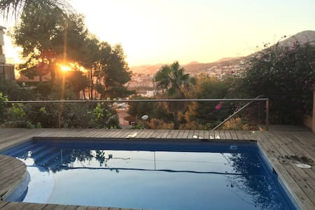Peaceful, relaxing accommodation with pool - Málaga