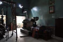 Lister Blackstone Engines make 1950s! Still running as a power backup at Sapoi factory!