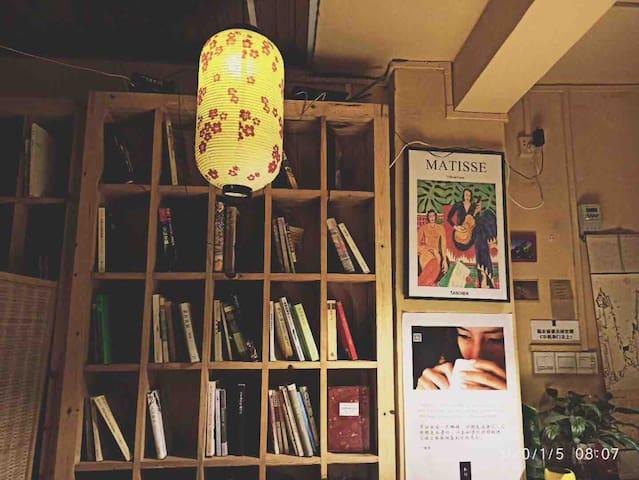 临近嘉应学院/朴行24小时书吧民宿大床房