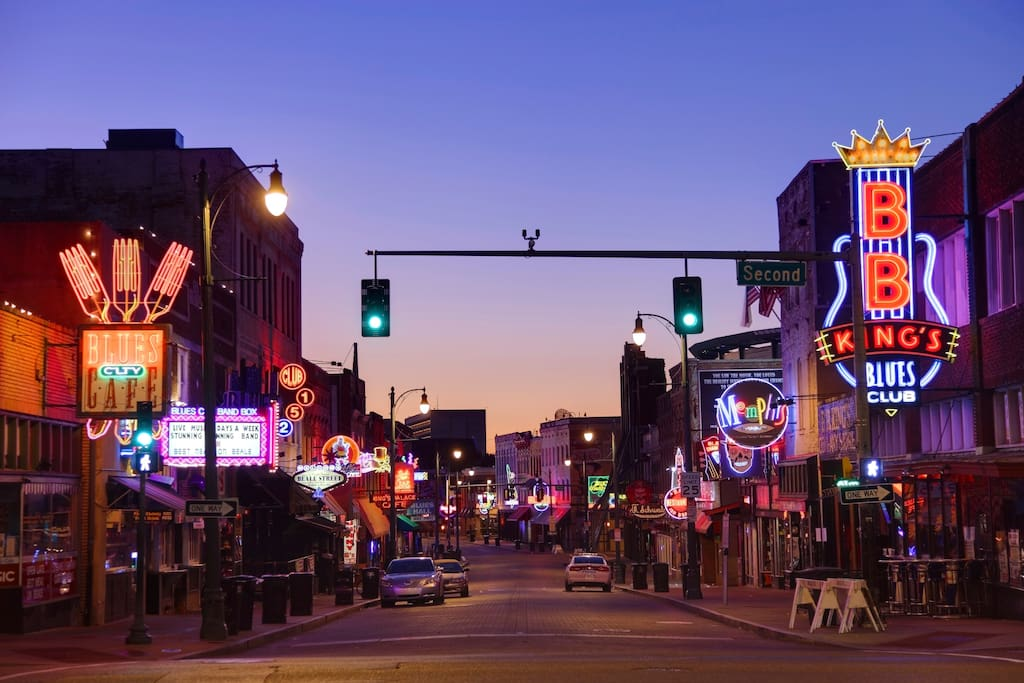 Short walk to Beale St.