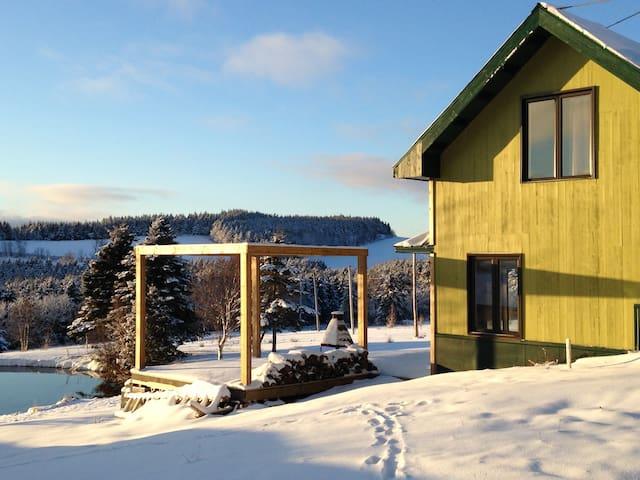 La petite maison verte du rang 9 - Saint-Fortunat - บ้าน