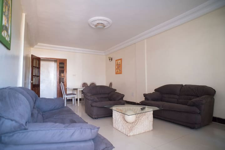 Apartment with two bedrooms fully equipped