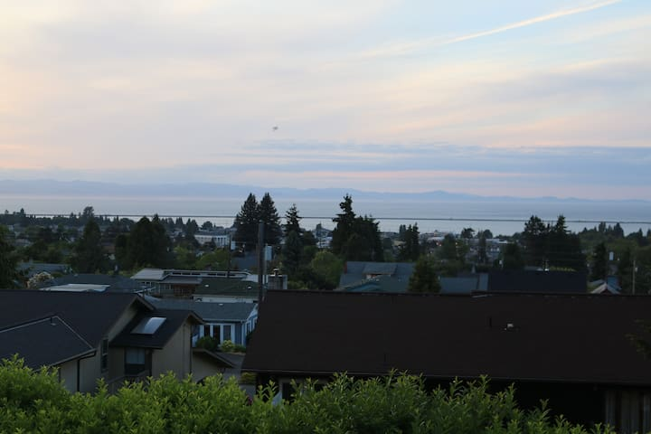 Basement Studio with Water View - Port Angeles - Apartment