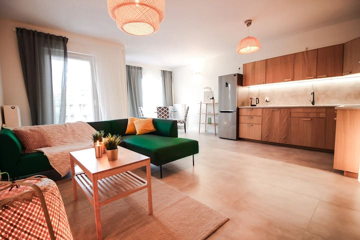 Comfortable and spacious/Old Town/Free parking