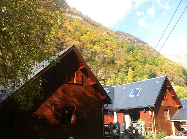 Meyabat River Lodge Glisse Thermalisme & Bien Être - Saint-Lary-Soulan - Appartement