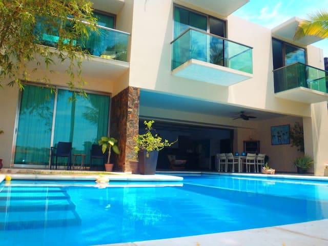 CASA LAGUNA - Puerto Aventuras - Villa