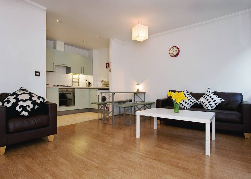 Living room / lounge / kitchen open plan