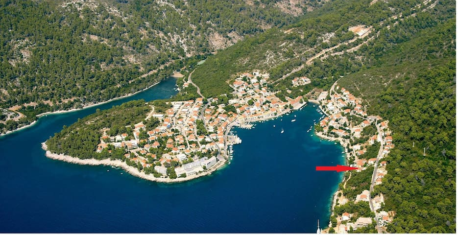 Apartment Robert A1(2+2) Brna, Island Korcula