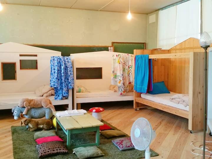 Haretoke Design Hostel (Bed Dormitory Plan)