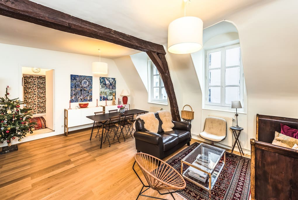 Charming flat for 6p near Bastille - Le Marais