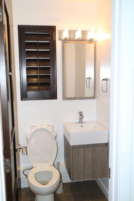 salle d'eau/toilet