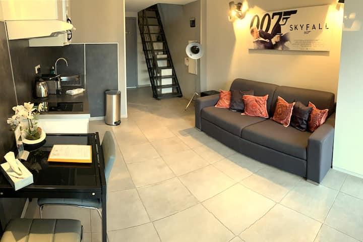 Apartment duplex with big Terrace
