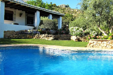 Casa Rosaleda Romantic Accommodation with WiFi - El Chorro - Villa