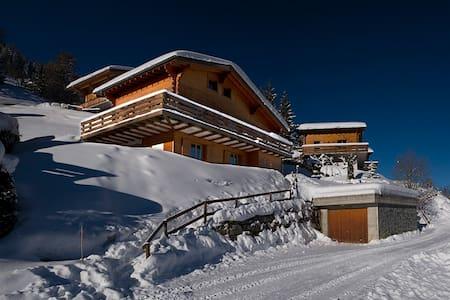 Chalet El Paradiso in La Tzoumaz, skiing hiking - Martigny