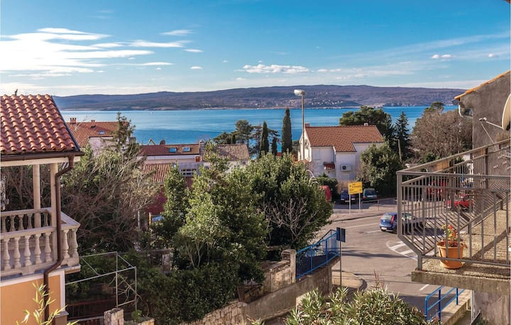 Nice home in Crikvenica with WiFi and 2 Bedrooms