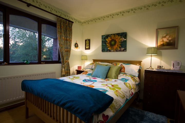 Sunflower Room in Lismaine Cottage B&B - Magheralin - Oda + Kahvaltı