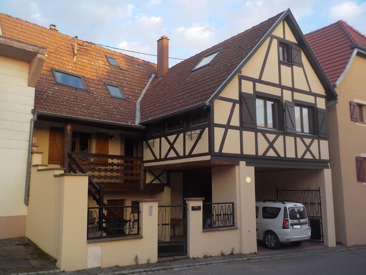Grande maison familiale vallée de Munster, Alsace